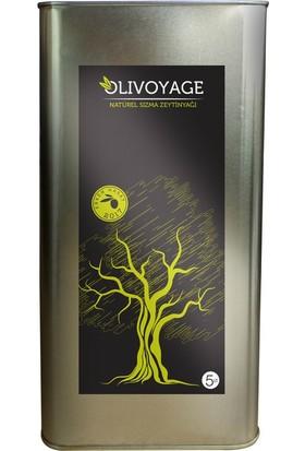 Olivoyage Naturel Ekstra Sızma Soğuk Sıkım Erken Hasat Filtresiz Zeytinyağı - 5 lt