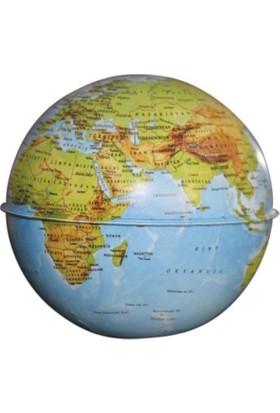 Gürbüz Dünya Kumbara Küre 10cm-Fiziki