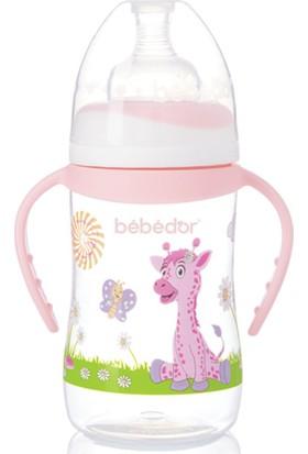 Bebedor 89322 Geniş Ağızlı Desenli Biberon 250 ml