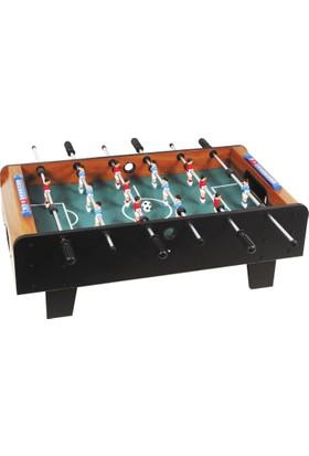 Pusula Oyun Ahşap Büyük Boy Langırt Masası (Buffalo Ev Tipi Aile Oyunu Portatif Taşınabilir Masa Futbolu)
