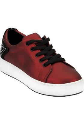 Ayakkabı - Bordo - Zenneshoes