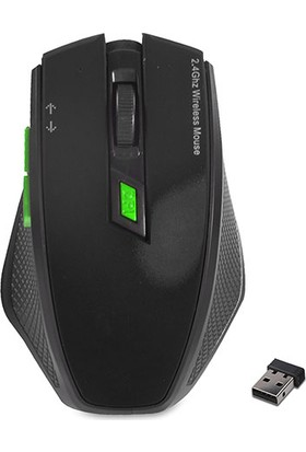Everest W777 USB 2.4Ghz Optik Wireless Mouse Siyah