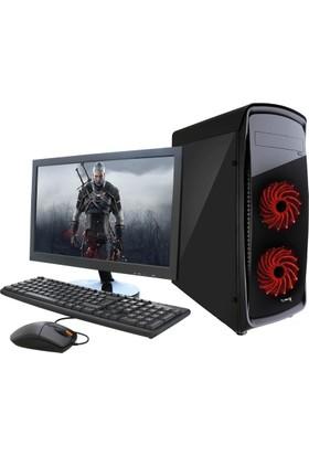 """Turbox TR900109 Intel Xeon x3430 8GB 1TB R7 240 Freedos 21.5"""" Masaüstü Bilgisayar"""
