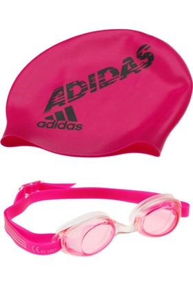 Adidas AB6070 Swim Kids Çocuk Bone Gözlük Takımı