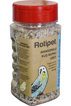 Rotipet Anasonlu Kuş Kumu Grit 300gr.