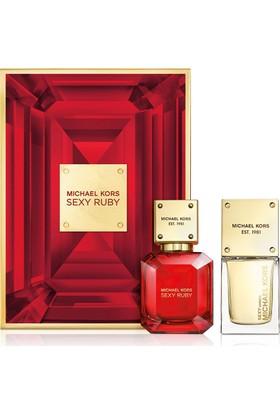 Michael Kors İkili Sexy Bayan Parfüm Seti-30 Ml Sexy Ruby-30 Ml Sexy Amber