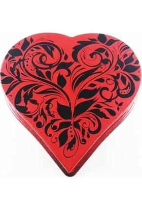 Nill Dünyası El Yapımı Dekoratif Ahşap Kalp Kutu