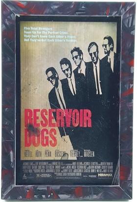 Nill Dünyası El Boyama Reservoir Dogs Ahşap Pano