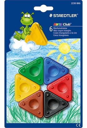 Noris Club Üçgen Pastel Boya Dilimleri 6 Lı