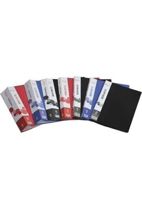 Ticon Clear Book 10 Lu Sunum Dosyası - A4