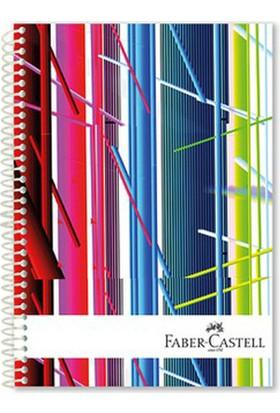 Faber-Castell Festival Sert Kapak Seperatörlü Defter 120YP