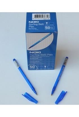 Noki Spring Mavi Tükenmez Kalem 50 Li