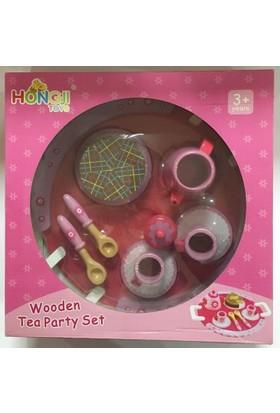 Hongjı Toys Wooden Tea Party Set / Hjd932072