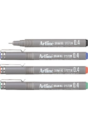 Artline Drawing System 0.4 Red