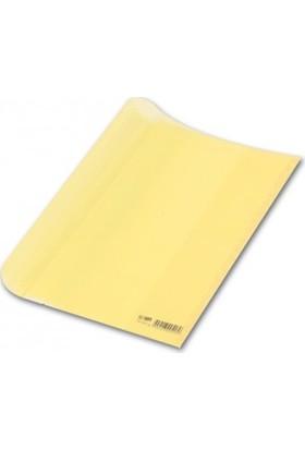 Abka Sarı Şeffaf 5 Li Hazır Kitap Kabı