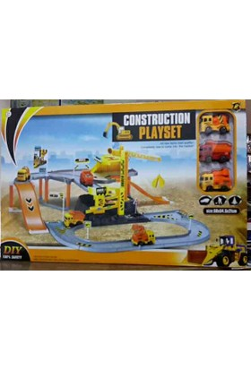 Constructıon Playset Dıy / İnşaat Alanı / P828-A
