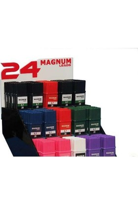 Magnum 0.7 Mm Uç 24 Lü Lacivert