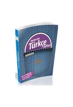Asel Yayınları Herkes İçin Türkçe Defteri