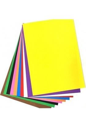 Sınar Renkli Kağıt A-4 50 Li 10 Renk Pastel