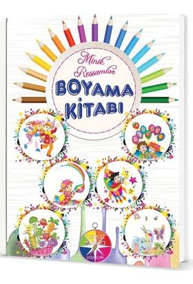 Beyaz Pusula Yayınları Minik Ressamlar Boyama Kitabı