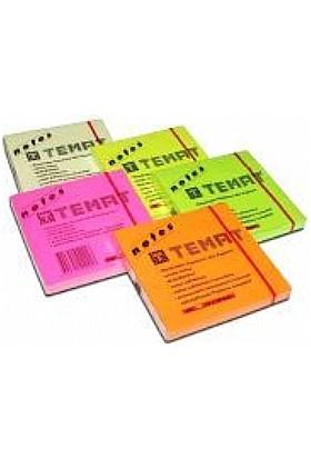 Temat 75 X 75 Mm Fosforlu Sarı Postit - Yapışkanlı Kağıt