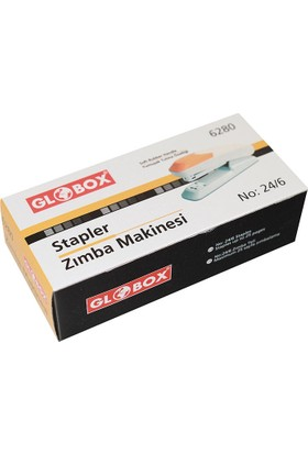 Globox Zımba Makinası No:24/6 Siyah