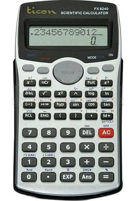 Ticon Fx 8240 Fonksiyonlu Hesap Makinası
