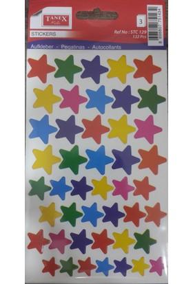 Stc-129 Renkli Yıldız Etiket