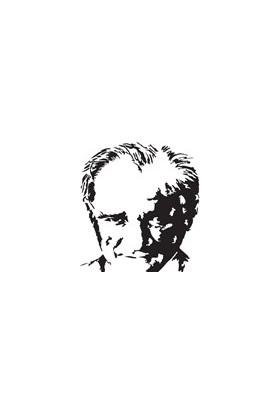 Svn Color Atatürk Silüet Çıkartma - Yapıştırma