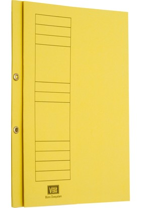 Vegus Sarı Yarım Kapak Karton Dosya