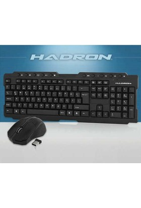 Hadron Kablosuz Mouse+Klavye Seti