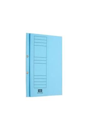 Vegus Mavi Yarım Kapak Karton Dosya