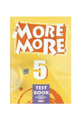 New More&More 5. Sınıf Test Book