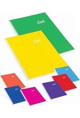 Keskin Color Cool - A4 120 Yaprak Çizgili Defter