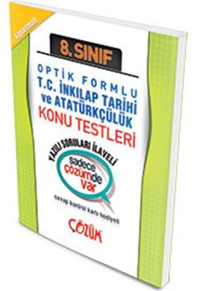 Çözüm Yayınları 8. Sınıf Optik Forumlu İnkılap Tarihi Konu Testi