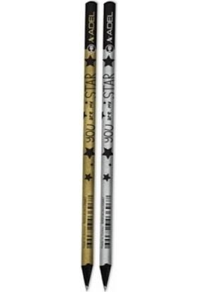 Adel Star Kurşun Kalem Siyah
