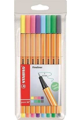 Stabılo Point 88 8'Li Pastel Paket