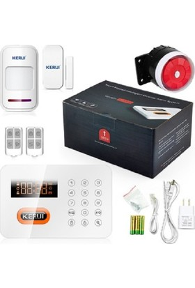 Kerui X1 Alarm Sabit Hatlı Kablosuz Alarm Sistemi