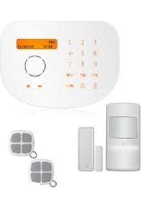 Golden Security Gsm Sim Kartlı Ve Sabit Hatlı Kablosuz Hırsız Alarm Sistemi