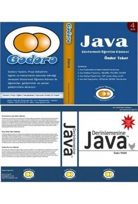Java 4 DVD'lik Eğitim Seti + 1 Java Standart Kitabı - Önder Teker