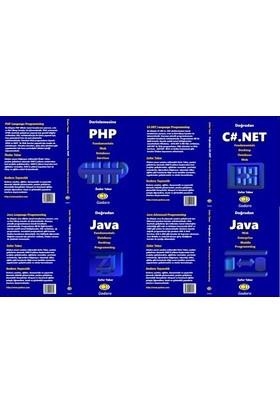Set 1 PHP, 1 C#.Net, 2 Java Kitabı Birlikte - Önder Teker