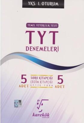 Karekök Yks-Tyt 5'Li Denemeleri 1. Oturum