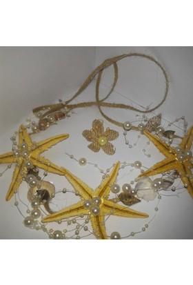 Gelinsacaksesuar Gelin Tacı Deniz Yıldızı Gelin Tacı Denizyıldızlı Tac