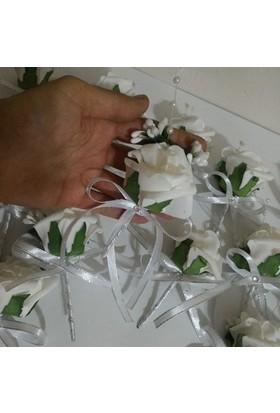 Gelinsacaksesuar Damat Yaka Çiçek Düğün Damat Aksesuar 1 Ad