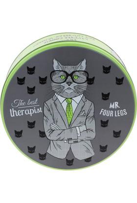 Wuw The Therapist Cat Metal Kutu