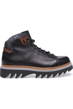 Alberto Guardiani Erkek Ayakkabı Siyah GU75133