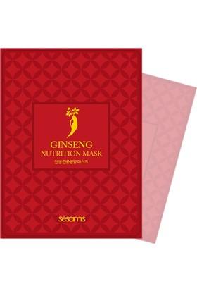 Limonian Sesamis Ginseng - Kore Ginseng Özlü Yoğun Besleyici Maske 5 Adet