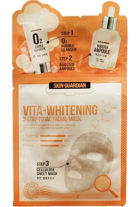Limonian SkinGuardian Vita Whitening -E Vitaminli Beyazlatıcı Yüz Maskesi 5 Adet