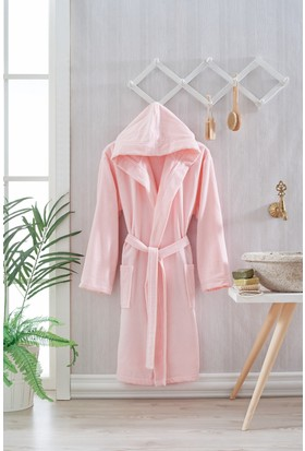 Nefnef Home Trendy Pure Soft Kapşonlu Bornoz