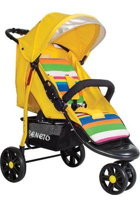 Beneto BT-333 Color - Line Jogger Bebek Arabası Sarı